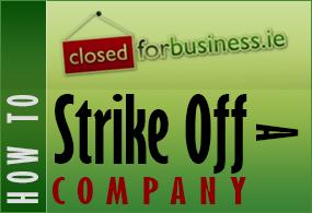 How to Strike of a Company